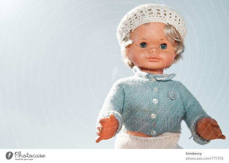 mrs sixty schön Mädchen Freude Spielen Stil Mode Freizeit & Hobby Design Bekleidung retro Spielzeug Freundlichkeit Kleinkind trendy Kindergarten Puppe