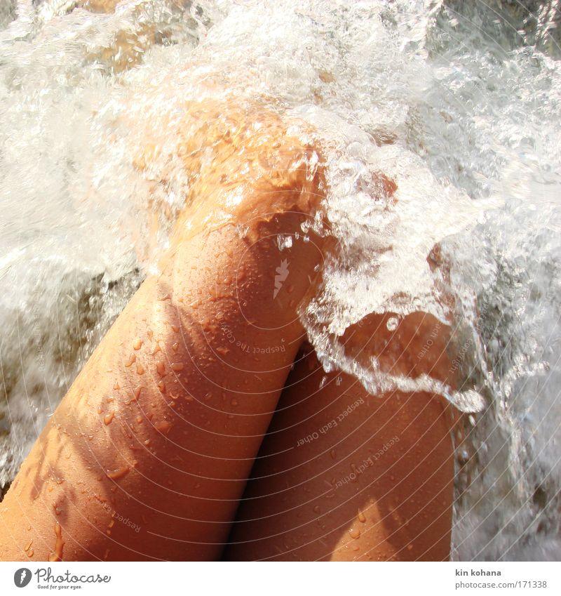 leidenschaft _ 03 Frau Mensch Jugendliche Wasser schön Sonne Meer Sommer Strand Ferien & Urlaub & Reisen Erotik Erholung feminin Beine Wellen