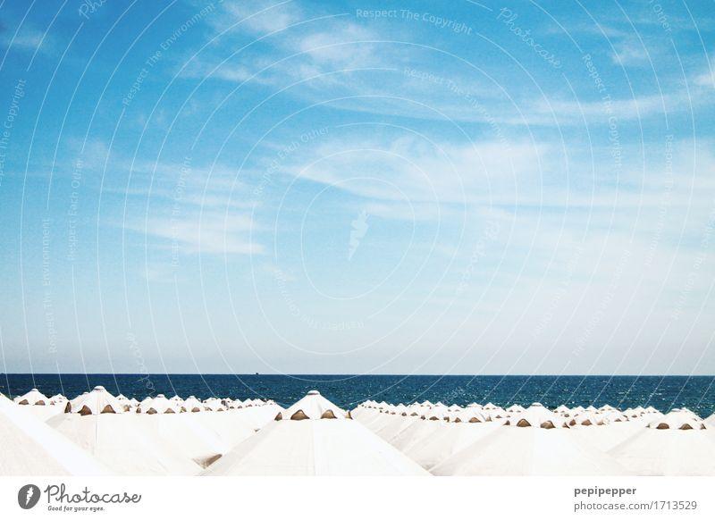 Schirmherrschaft Freizeit & Hobby Ferien & Urlaub & Reisen Tourismus Ferne Sommer Sommerurlaub Sonnenbad Strand Meer Wassersport Schwimmen & Baden Segeln Himmel