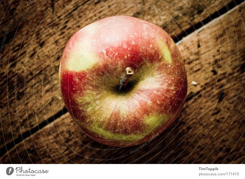 Ein Apfel ist ein Apfel ist ein Apfel... rot Ernährung gelb Gesundheit Lebensmittel Frucht frisch Küche Diät Mittagessen Bioprodukte Maserung Fasten Raum