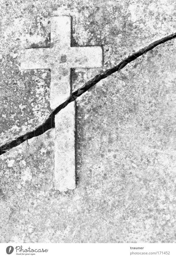 Die Kirche im 21. Jahrhundert?! Stein Kunst Beton ästhetisch Kreuz Ruine Dom Religion & Glaube Künstler Kunstwerk Christliches Kreuz Steinkreuz