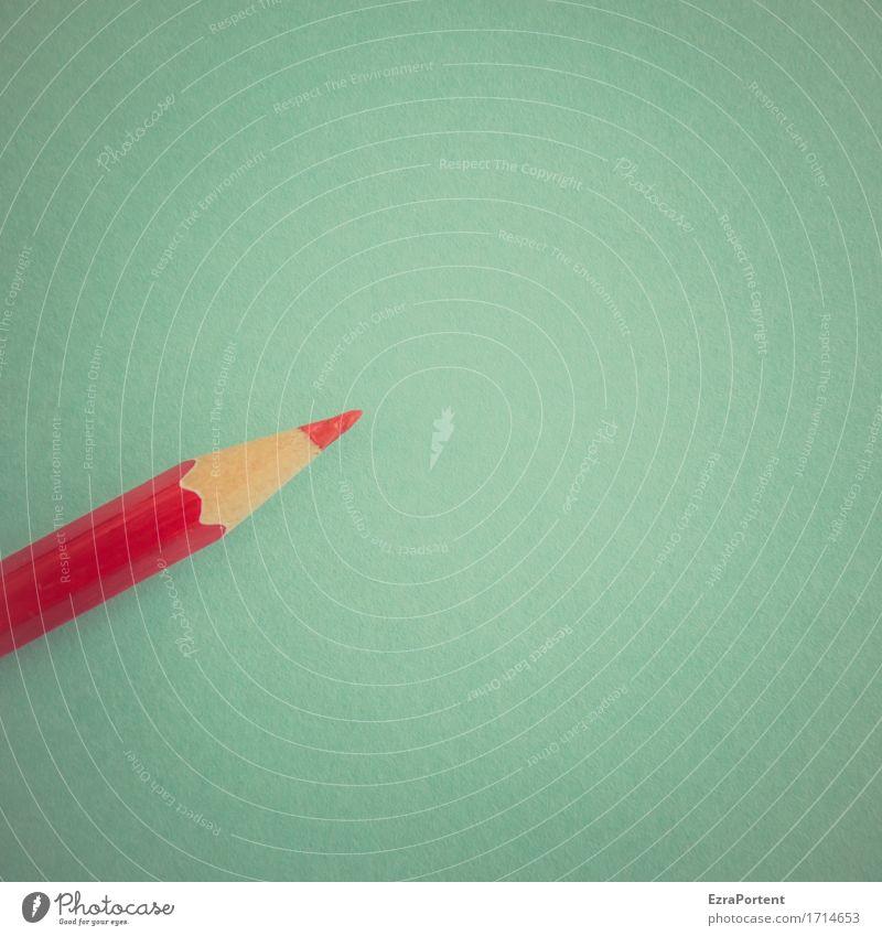 Rotstift angesetzt blau rot Business hell Arbeit & Erwerbstätigkeit Büro Freizeit & Hobby Spitze kaufen Papier Bildung türkis Werbung Handel Schreibstift