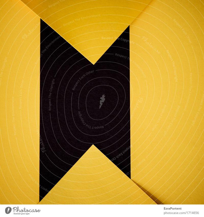 S\/G/\ Papier Zeichen Schilder & Markierungen Linie Pfeil Streifen gelb schwarz Design Farbe Werbung Hintergrundbild Grafik u. Illustration