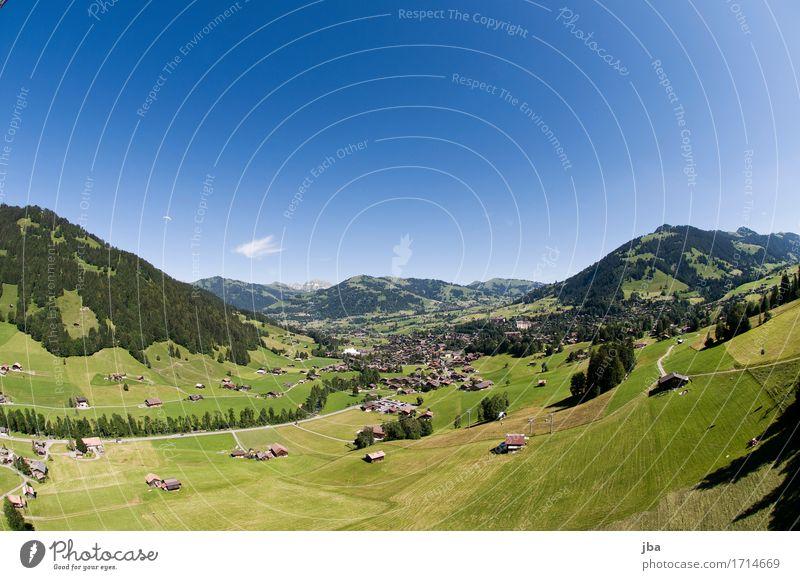 Abgleiten von der Wispile V Natur Sommer Landschaft Erholung ruhig Ferne Berge u. Gebirge Sport Lifestyle Freiheit fliegen Zufriedenheit Luft Freizeit & Hobby