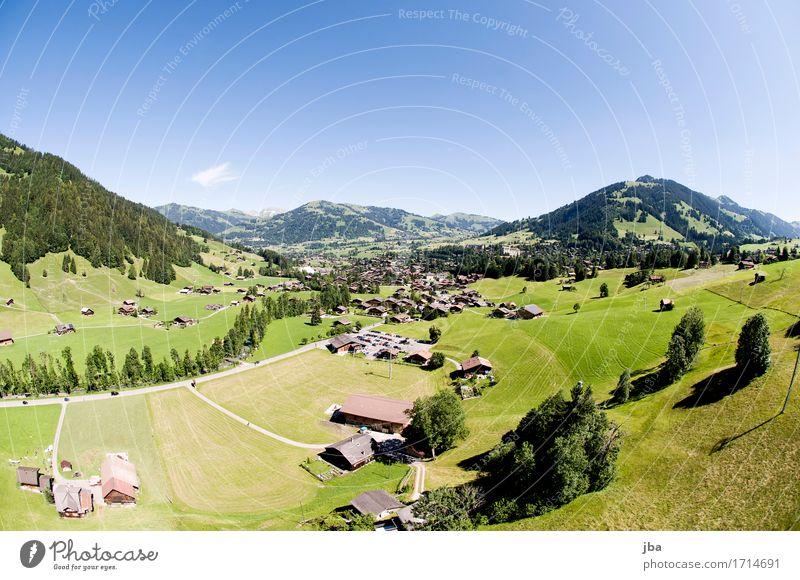 Abgleiten von der Wispile VI Natur Sommer Landschaft Erholung ruhig Ferne Berge u. Gebirge Leben Sport Lifestyle Freiheit fliegen Zufriedenheit Luft