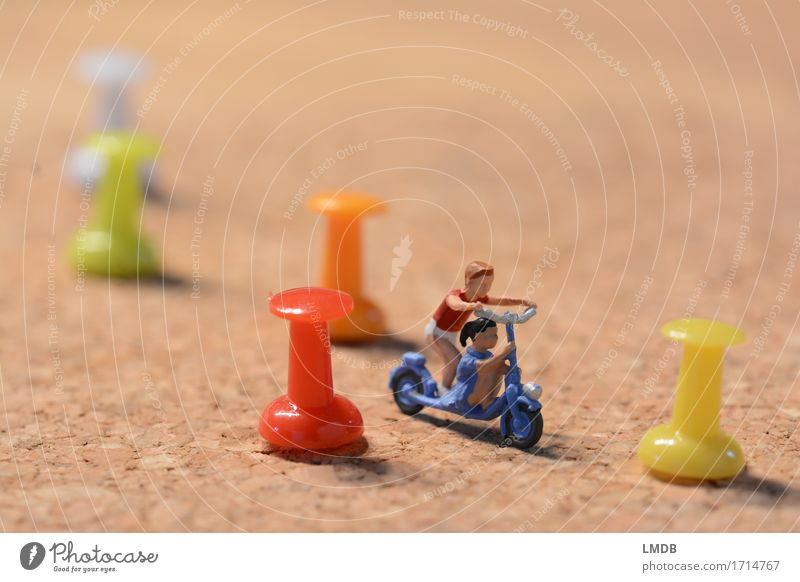 Hinderniss-Fahrt Freizeit & Hobby Spielen Mensch Kind Kleinkind Mädchen Junge Geschwister Bruder Schwester Familie & Verwandtschaft Freundschaft Kindheit 2