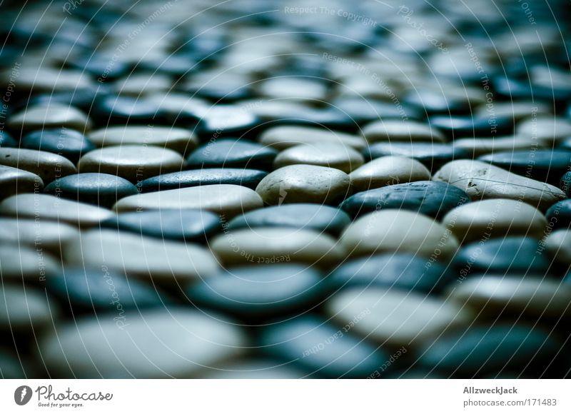 steine. sonst nichts. kalt Erholung Stein Zufriedenheit Ordnung ästhetisch mehrere einfach Makroaufnahme nachhaltig Kieselsteine