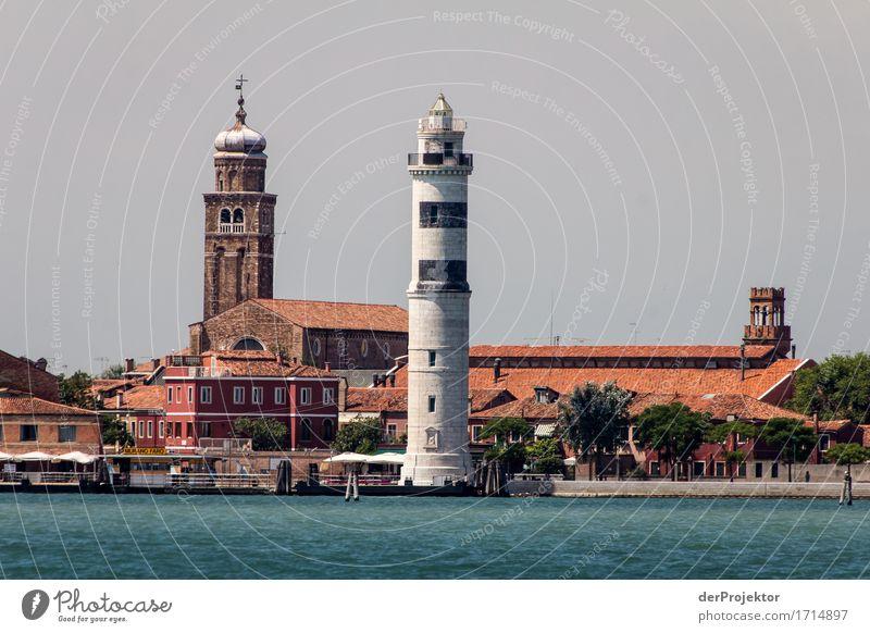 Leuchtturm von Santo Stefano Ferien & Urlaub & Reisen Ferne Architektur Gebäude außergewöhnlich Freiheit Tourismus Ausflug authentisch Kirche Insel Abenteuer