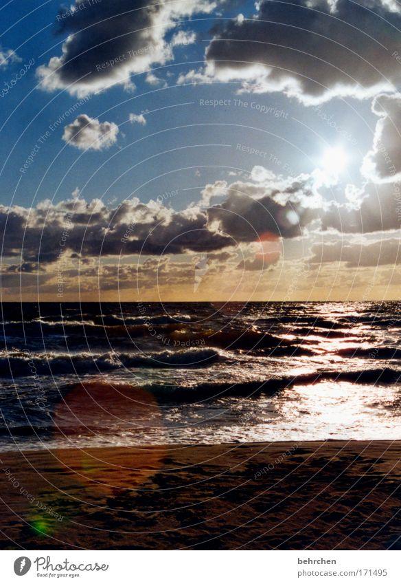 latvija Farbfoto Außenaufnahme Menschenleer Sonnenstrahlen Sonnenaufgang Sonnenuntergang Gegenlicht Ferien & Urlaub & Reisen Ausflug Ferne Freiheit Sommerurlaub