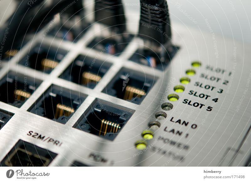 slotmachine Computernetzwerk Kommunizieren Technik & Technologie Telekommunikation Telefon Kabel Netzwerk Kontakt Internet Informationstechnologie Arbeitsplatz