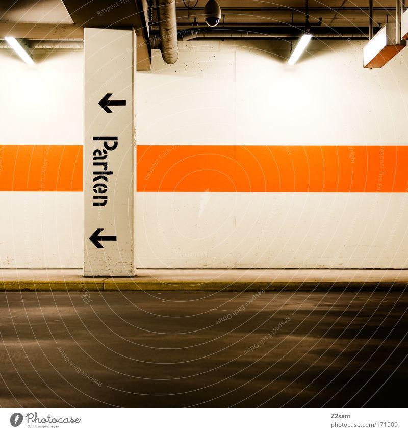 wo jetzt? Stadt Haus Straße dunkel Wege & Pfade Architektur glänzend Schilder & Markierungen Verkehr Industrie einfach Sauberkeit Richtung trashig Mobilität