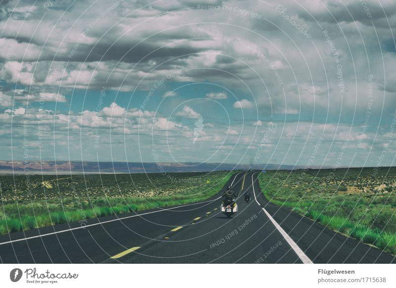 Beautiful Amerika (n) Himmel Wolken Tag Schatten Berge u. Gebirge Grand Canyon USA Landschaft Pflanze Tier Aussicht Ferne Menschenleer Sträucher Vulkankrater
