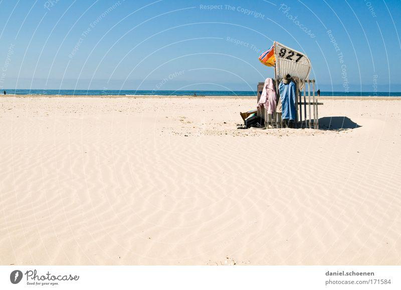 927 Wasser Himmel Meer Sommer Freude Strand Ferien & Urlaub & Reisen Ferne Erholung Sand Zufriedenheit Küste Horizont Wellness Tourismus Idylle