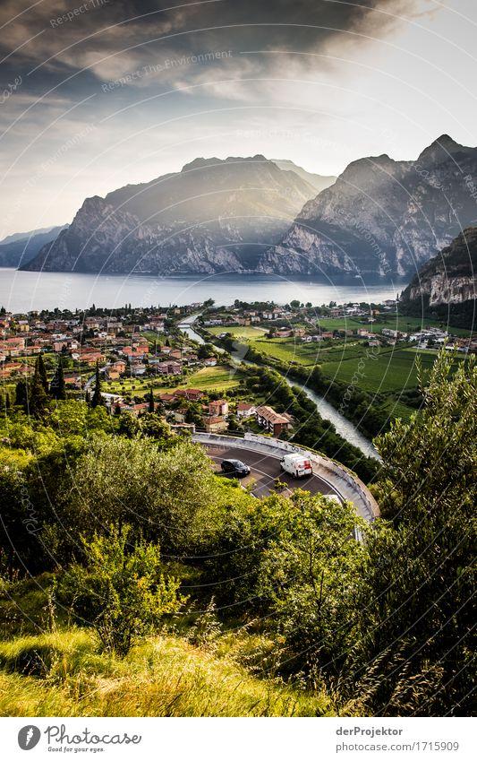 Panoramstrasse am Gardasee Ferien & Urlaub & Reisen Tourismus Ausflug Abenteuer Ferne Freiheit Sightseeing Sommerurlaub Umwelt Natur Landschaft Pflanze Tier