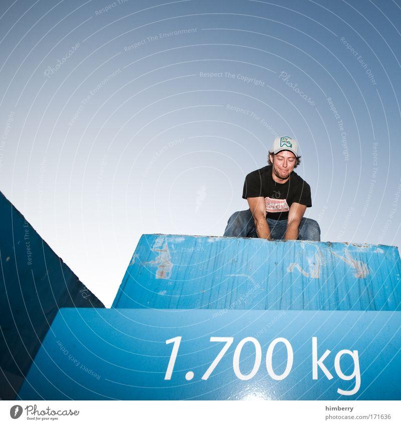 heavyweight champion Mensch Mann Jugendliche Sport Leben Kraft Erwachsene Erfolg hoch Coolness Baustelle Fitness Dienstleistungsgewerbe Handwerk Stress