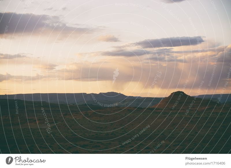 Beautiful Amerika (k) Himmel Wolken Tag Schatten Berge u. Gebirge Grand Canyon USA Landschaft Pflanze Tier Aussicht Ferne Menschenleer Sträucher Vulkankrater