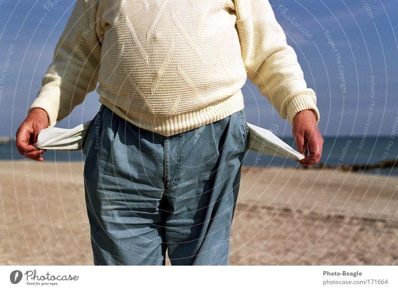 Ich will einen Strandkorb! Geld Armut Kies Insolvenz Kapitalwirtschaft Finanzkrise Wirtschaftskrise Geldnot