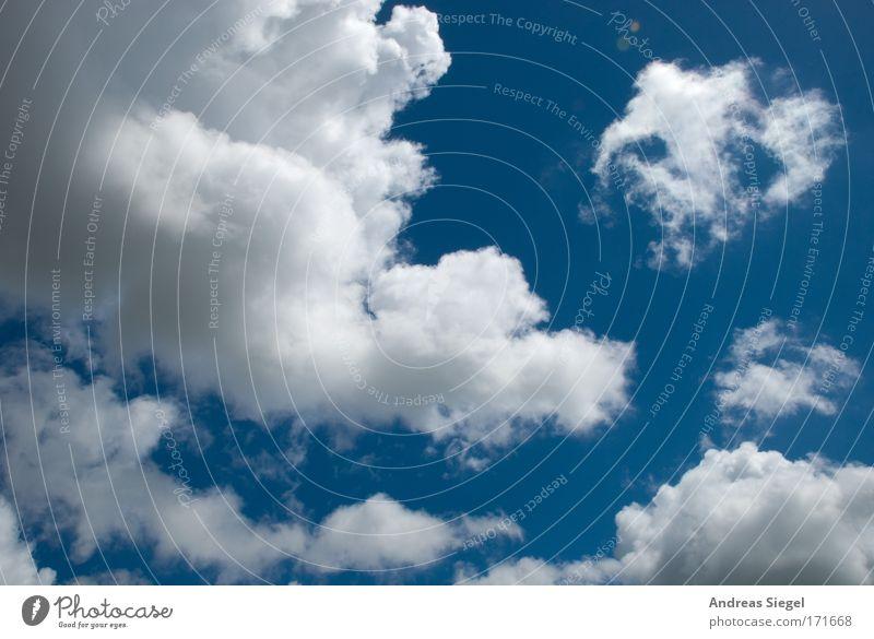 Wolkenschein Natur Himmel weiß blau Sommer Wärme Luft hell Wetter Umwelt Fröhlichkeit Klima fantastisch außergewöhnlich Freundlichkeit