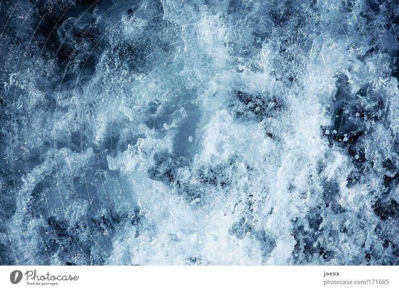 Essenz Wasser kalt Wellen nass frisch Sauberkeit natürlich Flüssigkeit Schaum Quelle sprudelnd Mineralwasser Trinkwasser Whirlpool