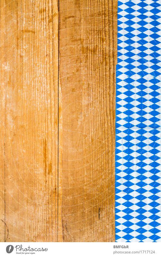 Hintergrund mit bayrischen Farbkante Tourismus Städtereise Dekoration & Verzierung Party Veranstaltung ausgehen Feste & Feiern Essen trinken Oktoberfest
