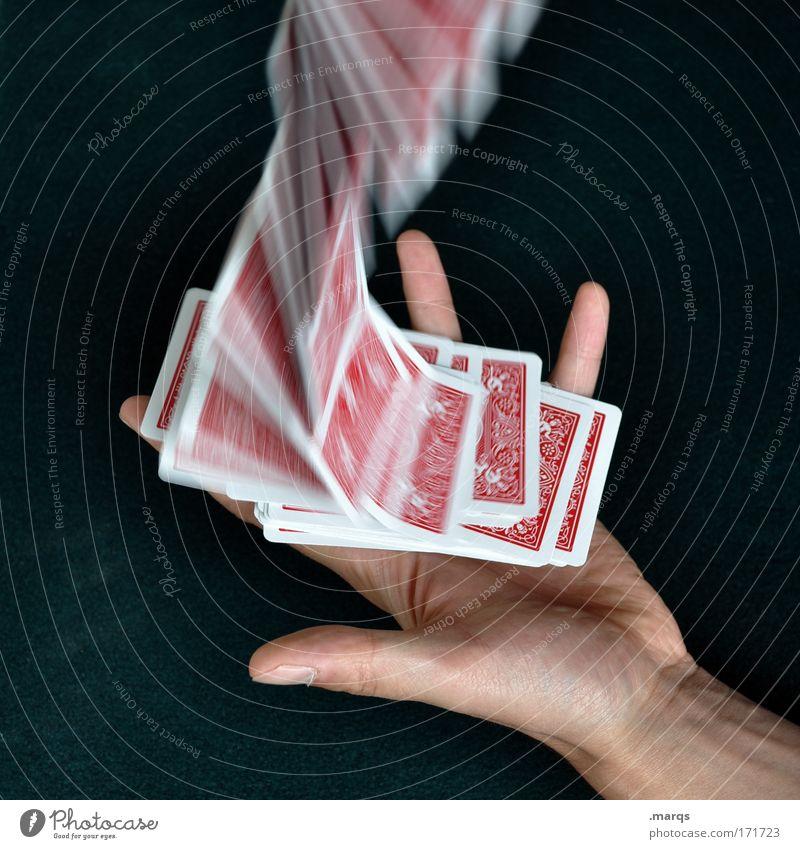 Fallstudie Hand Freude Spielen Glück planen Erfolg Freizeit & Hobby fallen außergewöhnlich Kontrolle werfen Kapitalwirtschaft Konkurrenz Sucht mischen Poker