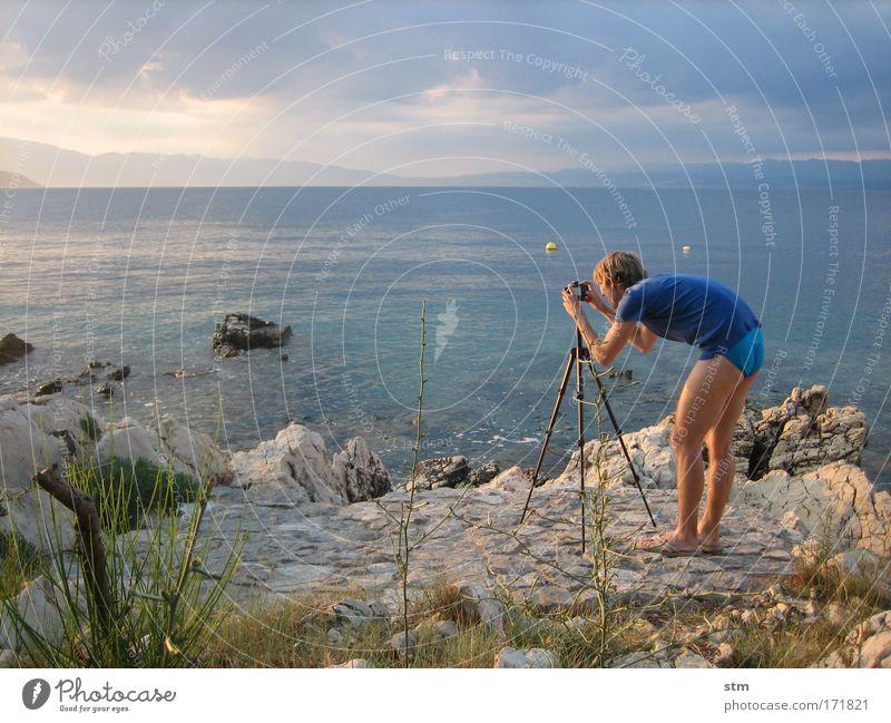 die spezialisten [1] Mensch Himmel Natur Mann Jugendliche Wasser Ferien & Urlaub & Reisen Sommer Sonne Meer Strand Erwachsene Landschaft Ferne Küste Luft