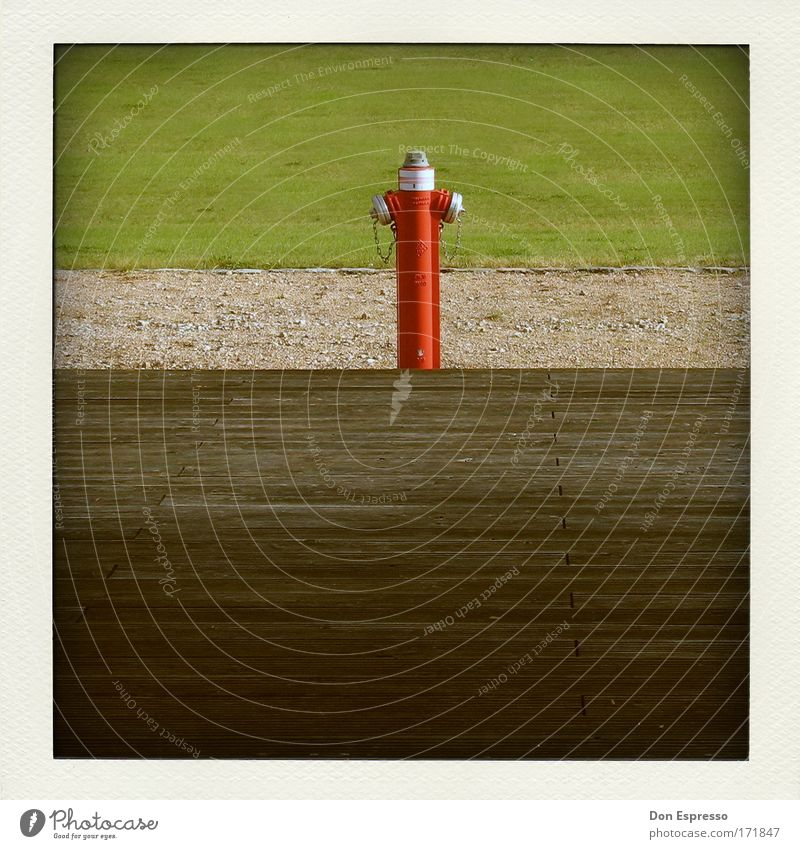Firefighter rot Feuer Beruf analog Feuerwehr löschen Hydrant Brandschutz Löschwasser