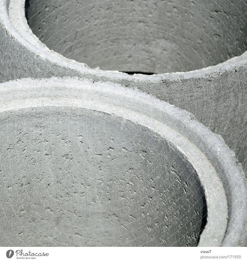Halfpipe Haus grau Beton neu Güterverkehr & Logistik rund Fabrik Baustelle Teile u. Stücke Röhren Maschine Handwerker Industrieanlage Bogen Abwasserkanal Kanal