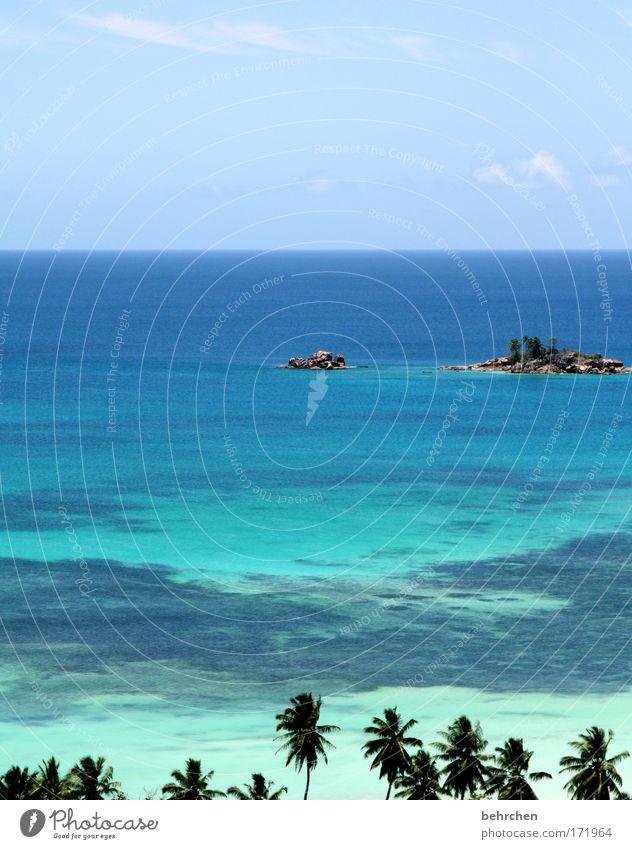 unverbaubarer blick Himmel Meer Strand Ferien & Urlaub & Reisen Wolken Ferne Freiheit träumen Wellen Küste Abenteuer Insel Tourismus Aussicht Unendlichkeit