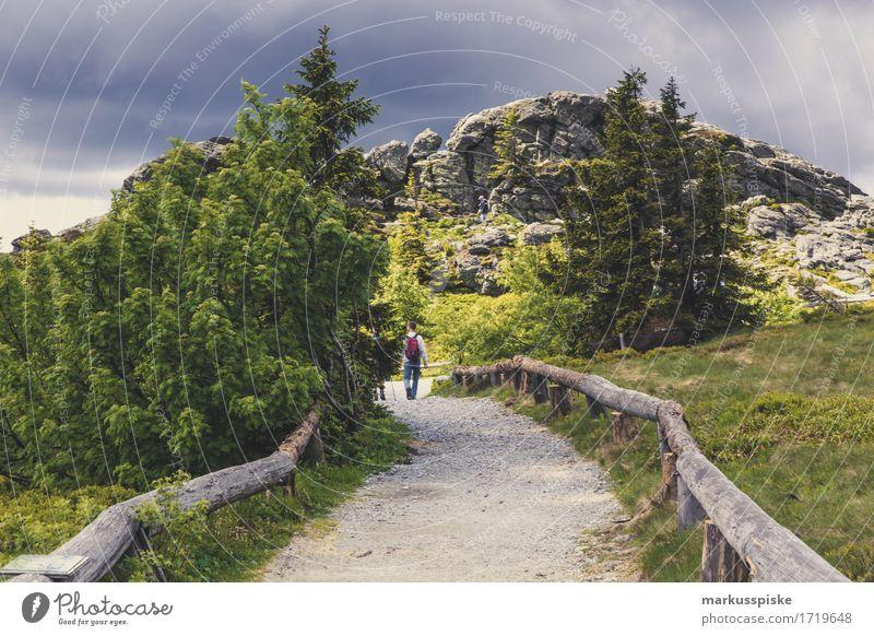 wandern outdoor abenteuer Mensch Ferien & Urlaub & Reisen Jugendliche Junge Frau Junger Mann Ferne Berge u. Gebirge Erwachsene Sport Spielen Freiheit Felsen