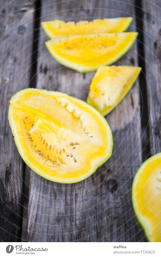 Foodfoto VI Gesunde Ernährung Speise Foodfotografie gelb Essen Gesundheit Lebensmittel Frucht Ernährung frisch Vegetarische Ernährung Picknick Vitamin ungesund Melonen