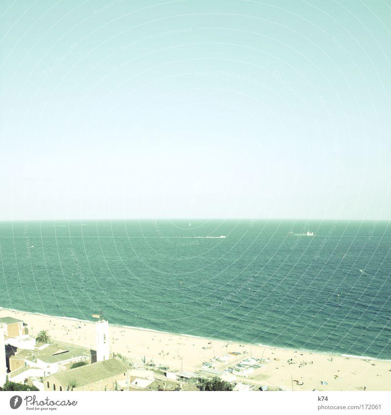 Seeräuber Wasser Himmel Meer Sommer Strand Ferien & Urlaub & Reisen Wasserfahrzeug Küste Pirat attackieren Kapern