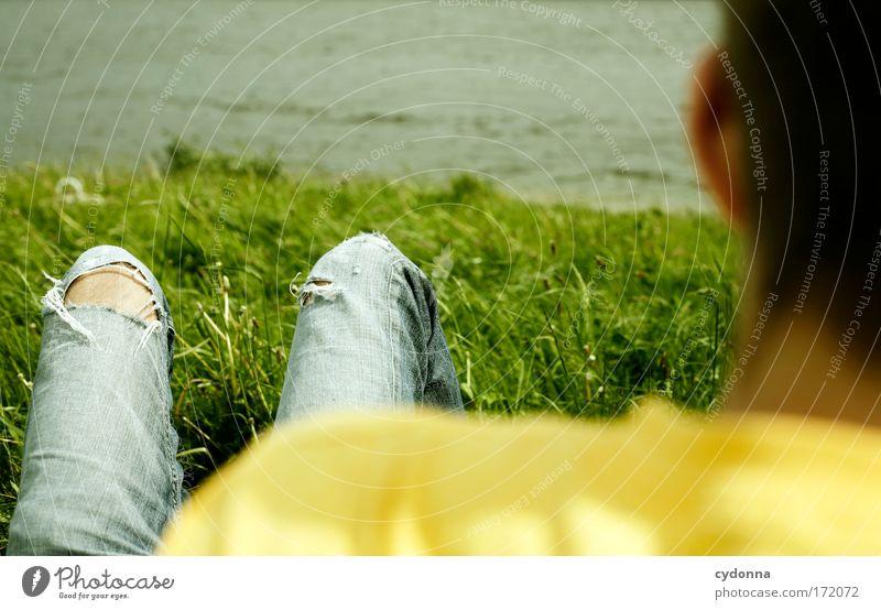 Ich bin kein Spießer. Farbfoto Außenaufnahme Nahaufnahme Detailaufnahme Textfreiraum links Textfreiraum rechts Textfreiraum oben Tag Schatten Kontrast