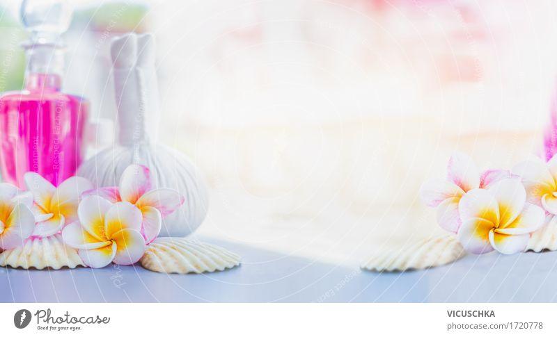 Wellness hintergrundbilder  Spa oder Wellness Hintergrund mit Frangipani Blumen - ein ...
