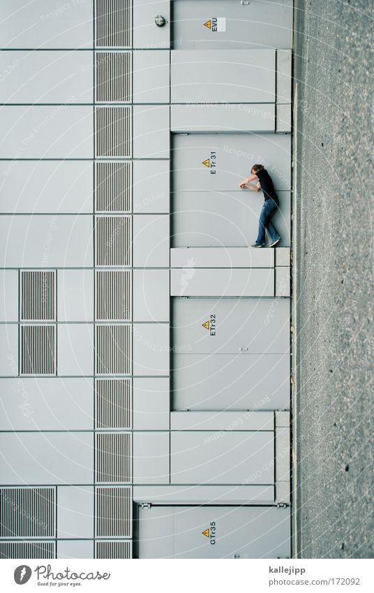 traumhaus Mensch Mann Stadt Haus Erwachsene Wand Spielen grau Mauer Stil Tür Wohnung Fassade Freizeit & Hobby maskulin Design