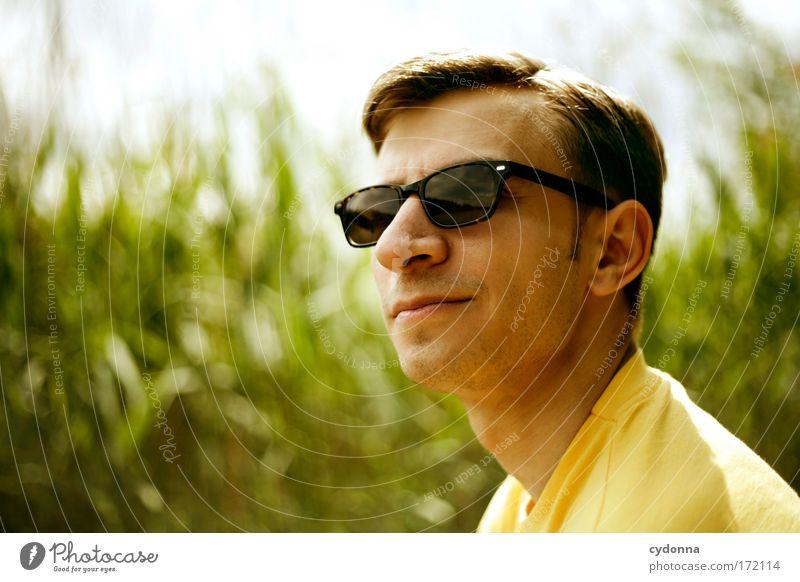 James Dean Mensch Mann Natur Jugendliche schön Pflanze Sonne Sommer Gesicht Erholung Leben Freiheit Umwelt Kopf Stil träumen