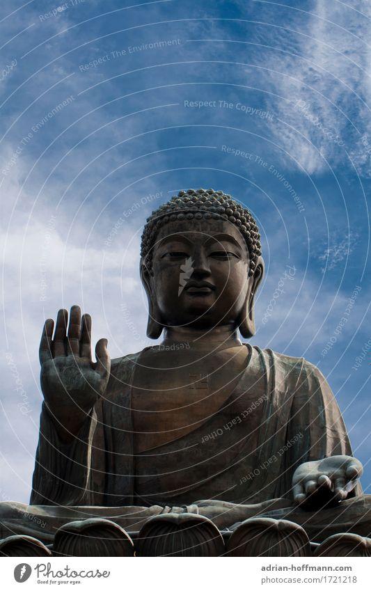 Big Buddha Ferien & Urlaub & Reisen ruhig Ferne Architektur Lifestyle Glück Kunst Tourismus Zufriedenheit Fröhlichkeit Kultur groß Abenteuer Freundlichkeit