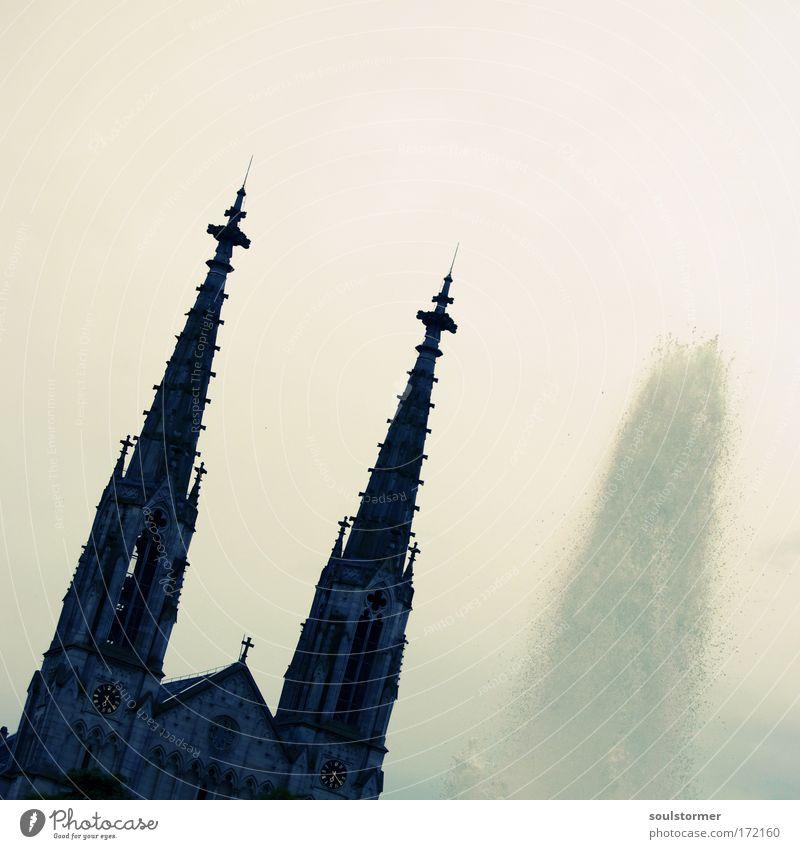 tÜrMcHeN Stadt Traurigkeit Park Gebäude Religion & Glaube Angst Architektur Deutschland Sicherheit Kirche Dach Vertrauen Lebensfreude Gewalt Denkmal