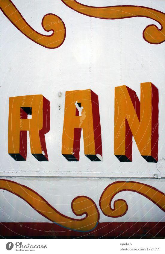 RAN Freude Wand Mauer Holz Metall Kunst Fassade Schilder & Markierungen Dekoration & Verzierung Schriftzeichen Show Zeichen Buchstaben Kultur Kitsch Veranstaltung