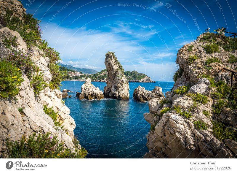Weitblick Natur Ferien & Urlaub & Reisen Landschaft Meer Erholung Wolken ruhig Ferne Berge u. Gebirge Umwelt Leben Gefühle Freiheit Stimmung Felsen Tourismus