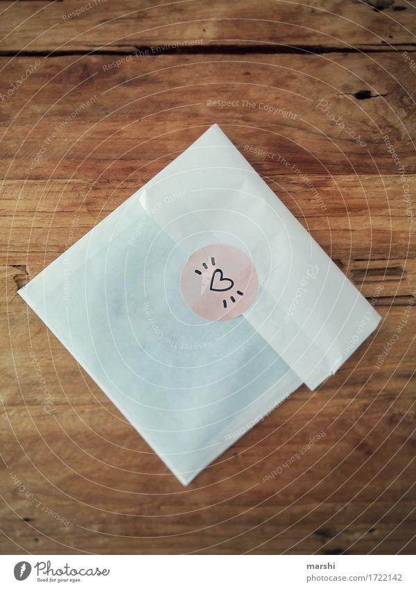 Liebesbrief Zeichen Schriftzeichen Schilder & Markierungen Gefühle Stimmung Glück Freundschaft Zusammensein Romantik Herz Überraschung Dekoration & Verzierung