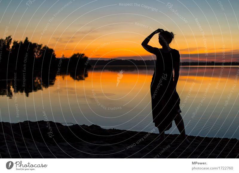 nachtbaden Lifestyle Freude schön Freizeit & Hobby Ferien & Urlaub & Reisen Tourismus Ausflug Abenteuer Ferne Freiheit Sommer Sommerurlaub Strand Insel Mensch