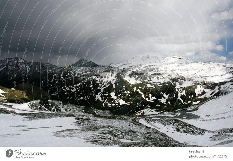 somewhere in österreich Sonne Freude Ferien & Urlaub & Reisen Einsamkeit Schnee Berge u. Gebirge Umwelt Wetter Zufriedenheit Ausflug Felsen groß Erfolg