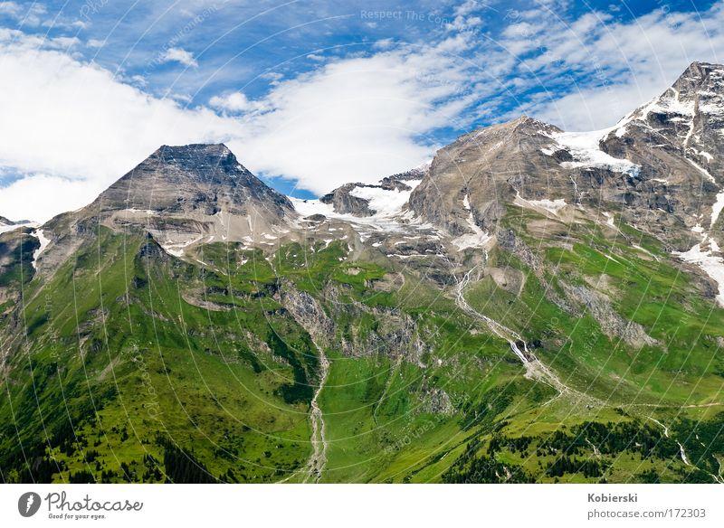 Wiesbachhorn Natur Sommer Ferien & Urlaub & Reisen Wolken Ferne Erholung Berge u. Gebirge Landschaft Ausflug groß Tourismus einzigartig Alpen Lebensfreude Stolz selbstbewußt
