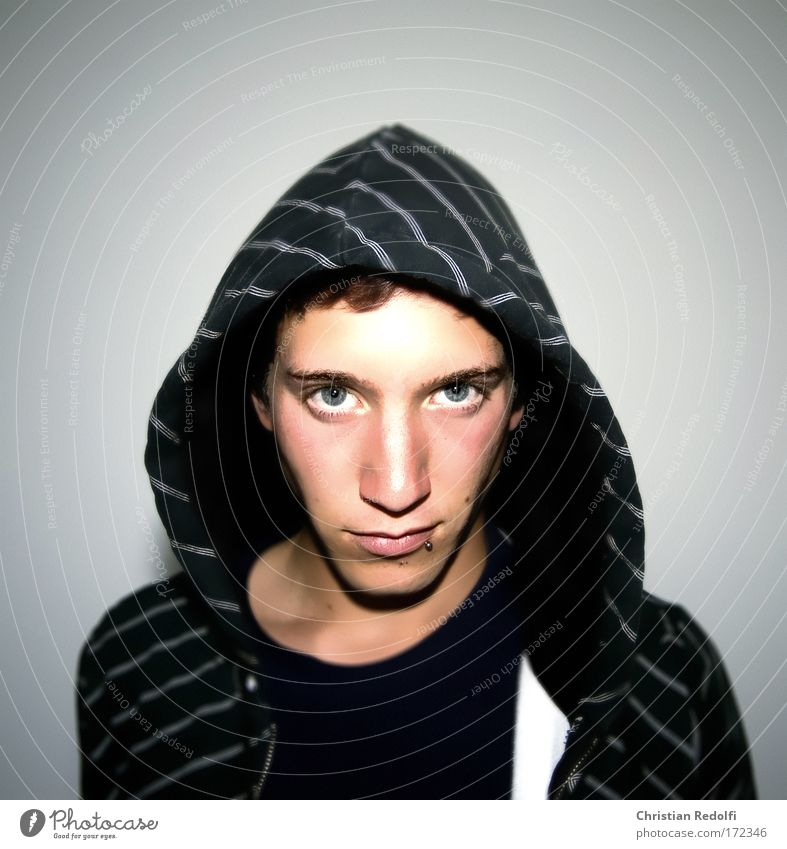 ??? Mann Jugendliche Hand schwarz Porträt Gefühle Angst Armut Brust Wut Mensch Schmerz Geister u. Gespenster Verstand Sorge