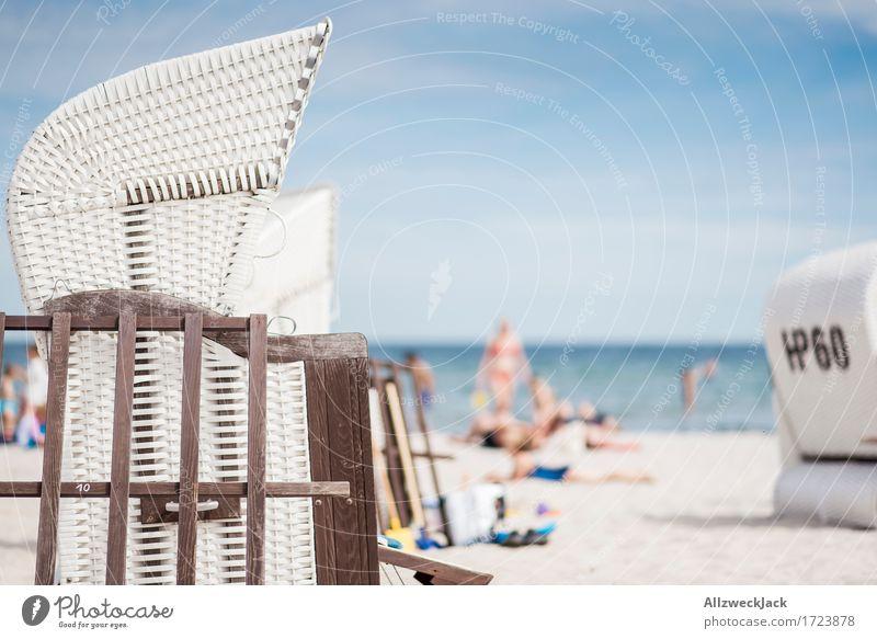 Beachlife 7 Mensch Ferien & Urlaub & Reisen Sommer Sonne Meer Erholung Strand Leben Schwimmen & Baden Tourismus Ausflug Lebensfreude Ostsee Sommerurlaub