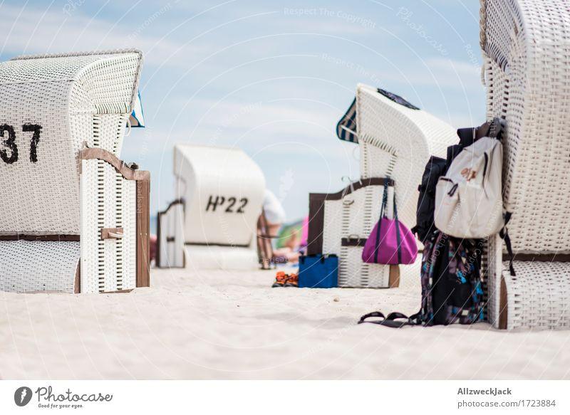 Beachlife 3 [750] Ferien & Urlaub & Reisen Tourismus Ausflug Sommer Sommerurlaub Sonne Strand Meer Zufriedenheit Lebensfreude Trägheit bequem Strandkorb