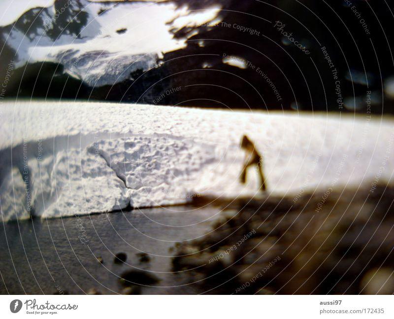Cosmo shoot '74 Mensch Frau Erwachsene Schnee Eis ästhetisch Frost Schneelandschaft