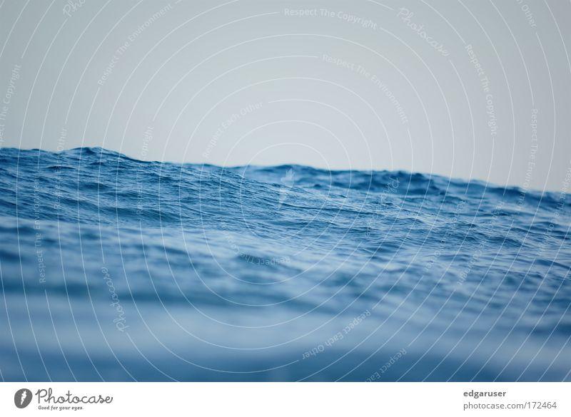 the ocean Himmel Wasser blau Sonne Sommer Ferien & Urlaub & Reisen Meer Ferne Wellen Wind nass Tourismus Fluss Urelemente tauchen Nordsee