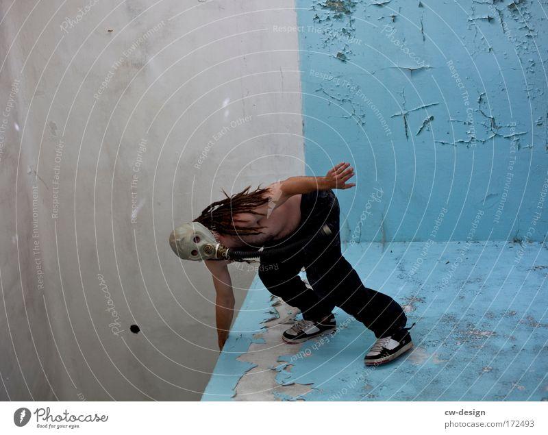 Der sexy Surflehrer Mensch Mann Erwachsene Spielen Kopf Haare & Frisuren Stil Raum Kraft elegant maskulin ästhetisch verrückt stehen 18-30 Jahre